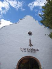 Rust en Vrede - Restaurant