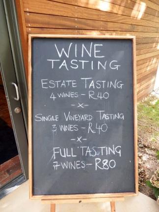 Rust en Vrede - Wine Tasting